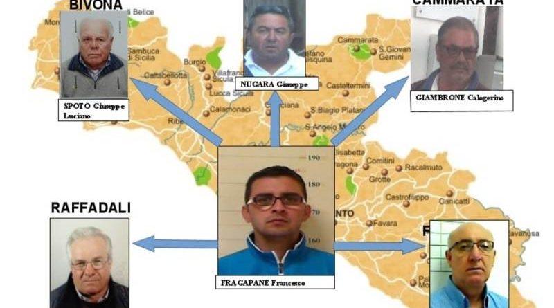 """Mafia, operazione """"Montagna"""": 59 indagati verso il processo"""