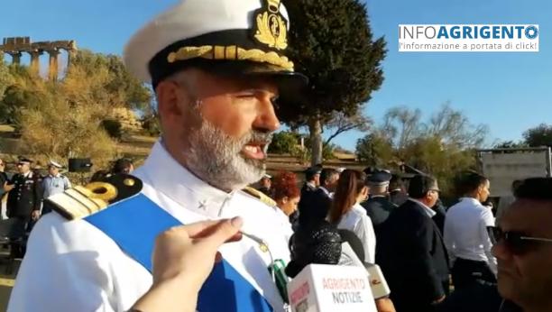 Capitaneria di Porto Empedocle, Gennaro Fusco è il nuovo comandante – Foto e Video