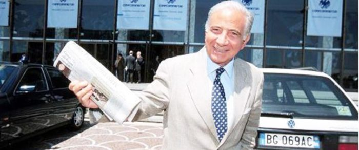 Catania: sequestrati 150 milioni di Euro all'editore Mario Ciancio
