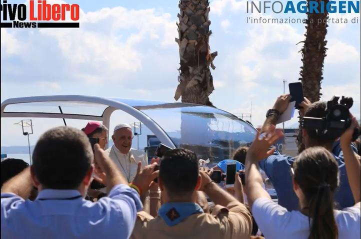 Visita di Papa Francesco a Palermo: guarda lo SPECIALE