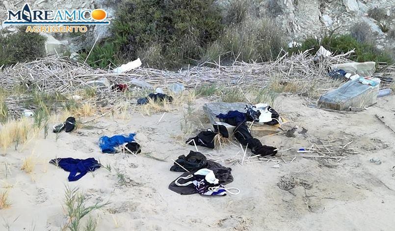 Sbarco fantasma nella spiaggia di Giallonardo