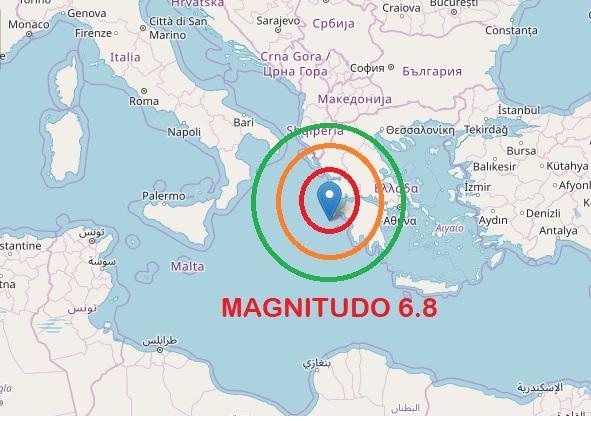 Terremoto in Grecia avvertito anche in Sicilia
