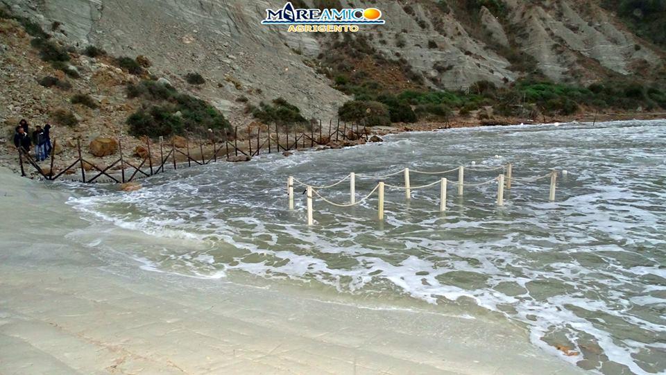 Maltempo: diversi danni lungo i litorali agrigentini