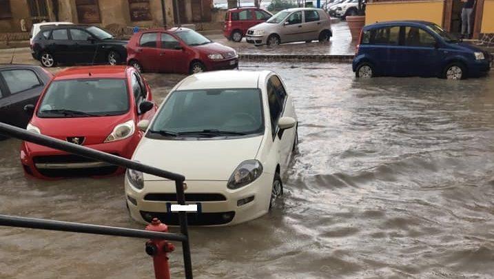 Maltempo, danni e disagi a Porto Empedocle: allerta meteo per mercoledì