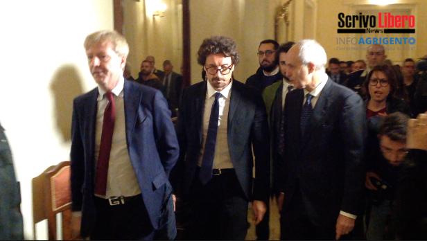 Infrastrutture e Ponte 'Morandi': tappa agrigentina per il Ministro Toninelli