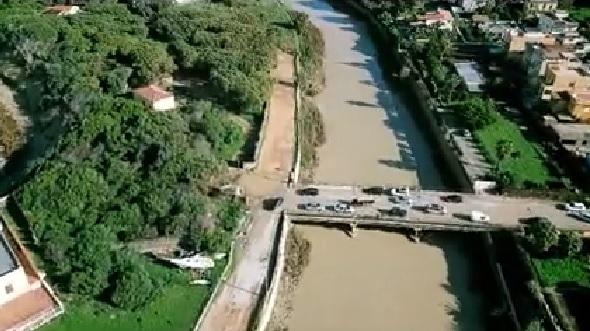 Esondazione Akragas: le immagini del fiume viste dall'alto