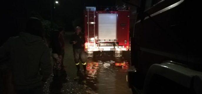 Esonda il fiume Akragas, evacuate le case limitrofe