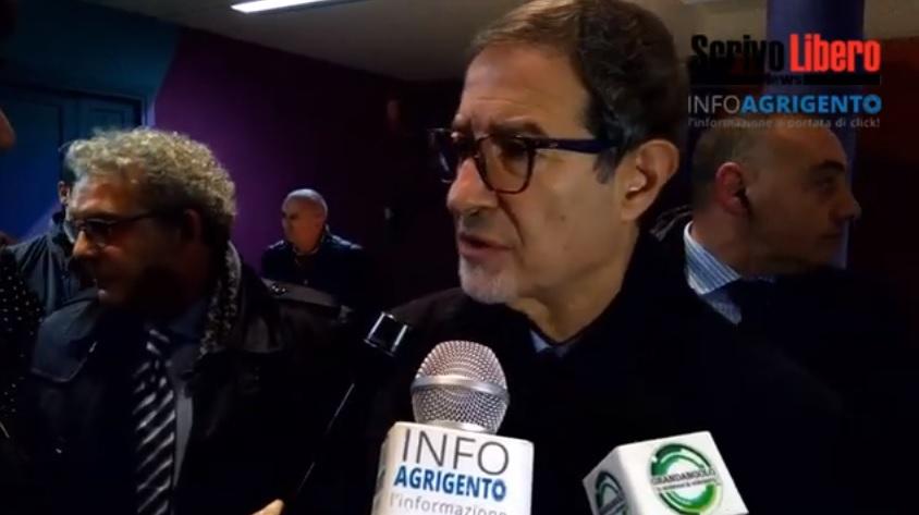 """Rifiuti ed ambiente: """"consuntivo"""" di Nello Musumeci ad Agrigento"""