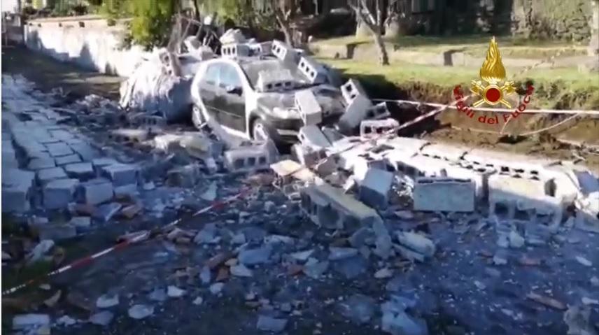 Terremoto in provincia di Catania: le immagini dei Vigili del Fuoco