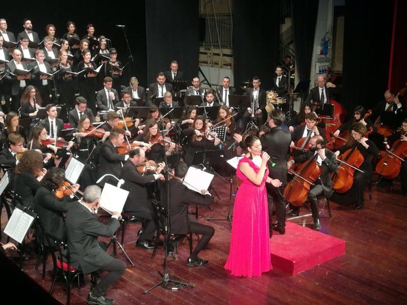 Successo per il concerto di capodanno al teatro Pirandello