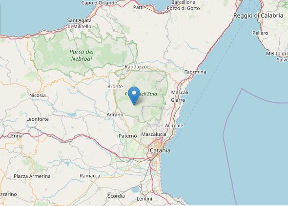 Continuano le scosse nel catanese, terremoto 3.5 Richter nella notte
