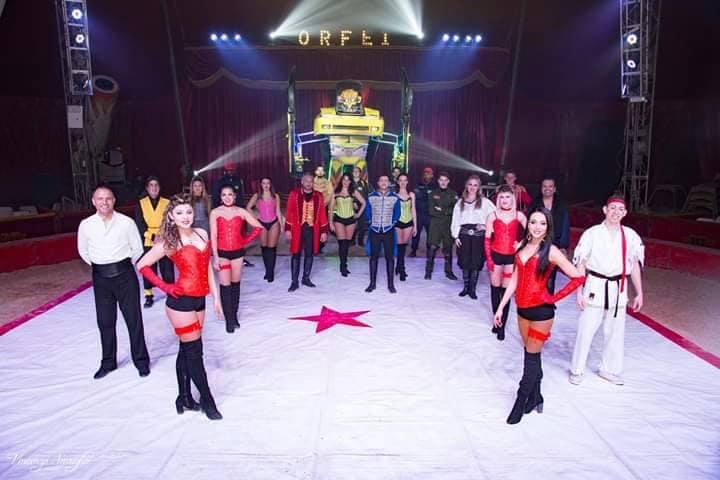 Arriva ad Agrigento il circo Greca Orfei