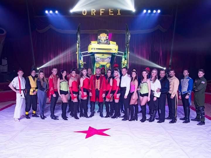 Il circo è spettacolo, ma anche solidarietà: l&rsquoabbraccio all&rsquoassociazione Ufe