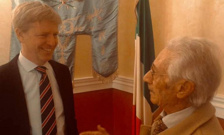 L'attore agrigentino Nino Bellomo nella prossima puntata del Commissario Montalbano