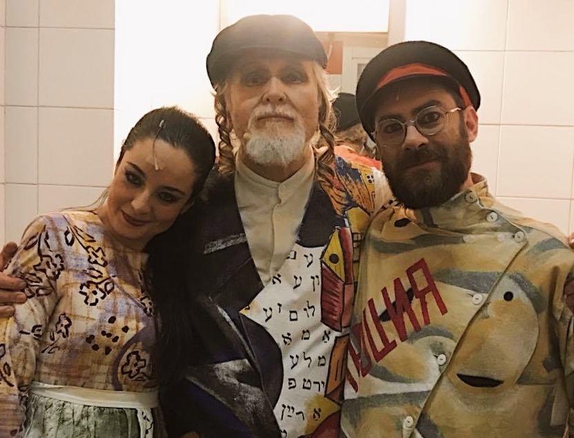 C'è anche l'agrigentina Graziana Lo Brutto nel nuovo spettacolo di Moni Ovadia