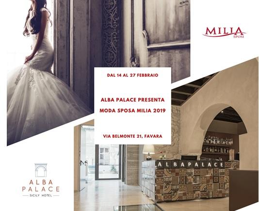Favara: all'Alba Palace Hotel appuntamento con la collezione 2019 degli abiti da sposa