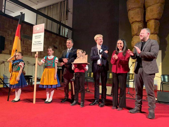 """Mandorlo 2019: alla Germania il """"premio Criscenzo"""""""