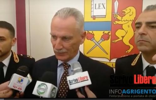 """Il Questore Auriemma Lascia Agrigento: """"Porto Con Me Gli Affetti E I Sentimenti Di Questa Provincia"""""""