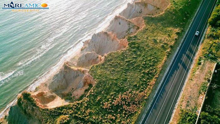 """SS 640, l'allarme di MareAmico: """"Erosione avanza verso la statale"""""""