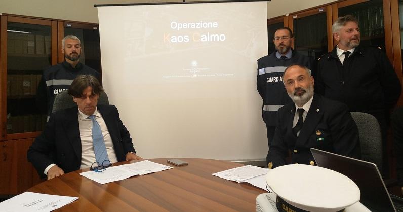 """Operazione """"Kaos calmo"""", la conferenza stampa di Patronaggio e Fusco"""