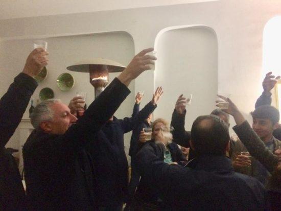 A Racalmuto Vincenzo Maniglia festeggia la sua elezione