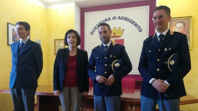 Questura di Agrigento: presentati due nuovi funzionari