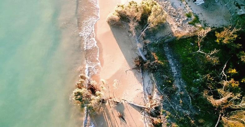 Eraclea Minoa, la spiaggia sempre più nel degrado
