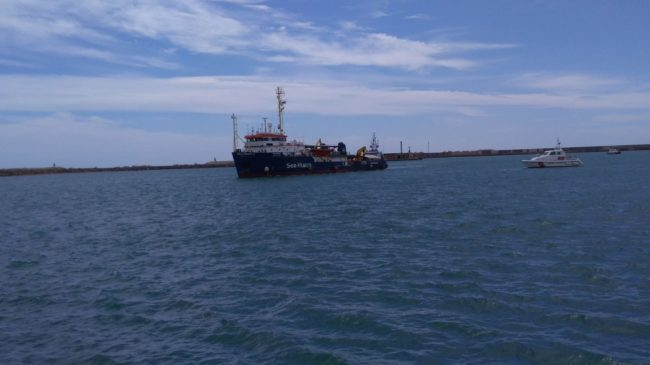 Dissequestrata la Sea Watch 3, la nave può lasciare Licata