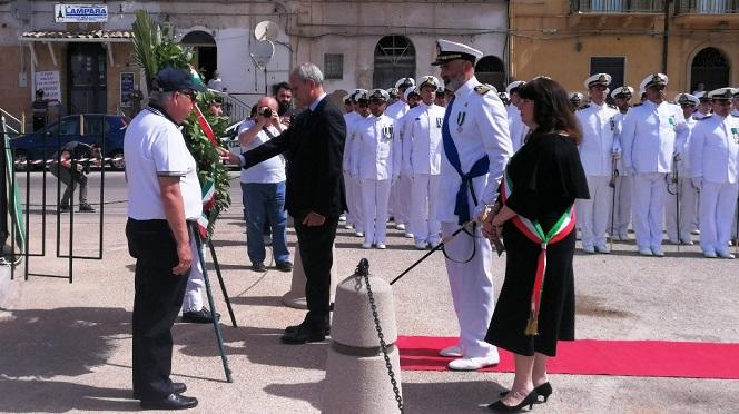 Celebrata la festa della Marina Militare