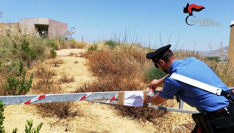Otto indagati ed un ampio terreno sequestrato: indagini su presunti abusi edilizi a Realmonte