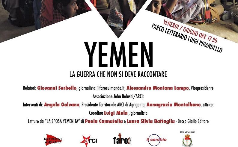 Agrigento: al caffè letterario si discute del dramma dello Yemen