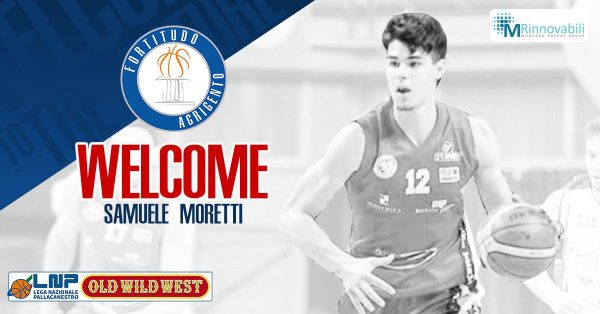 Basket: Samuele Moretti nuovo giocatore della Fortitudo