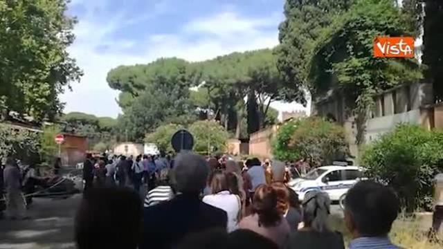 Andrea Camilleri sepolto a Roma