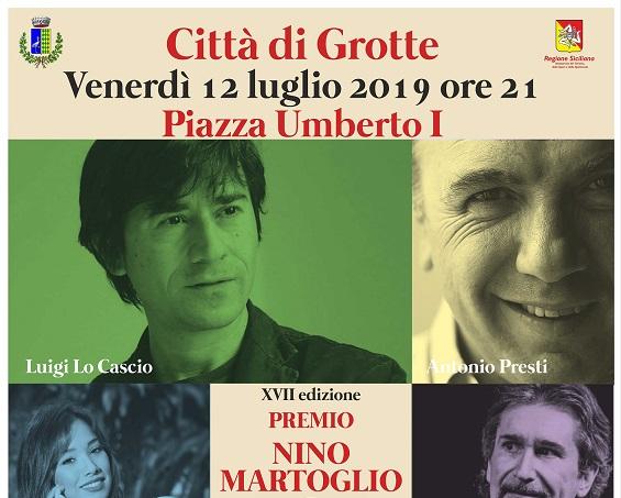 Grotte: venerdì la nuova edizione del premio Nino Martoglio