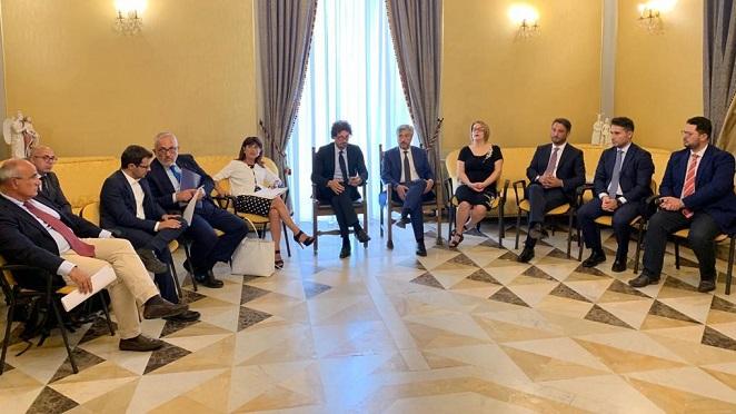 Infrastrutture, il ministro Toninelli a Caltanissetta