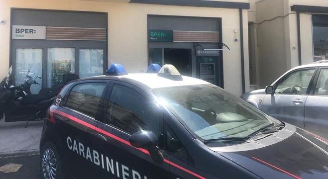 Rapina in banca al Villaggio Mosè, il bottino è di 165mila Euro