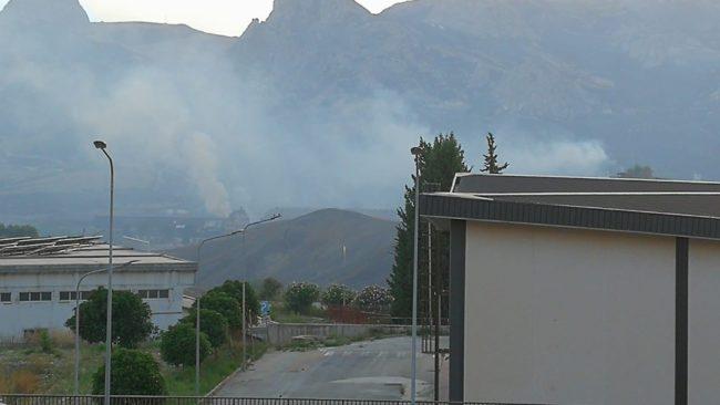 Emergenza incendi, preoccupazione tra gli abitanti di Campofranco