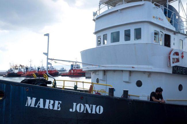 Caso Mare Jonio, la nave sequestrata dalla Guardia di Finanza