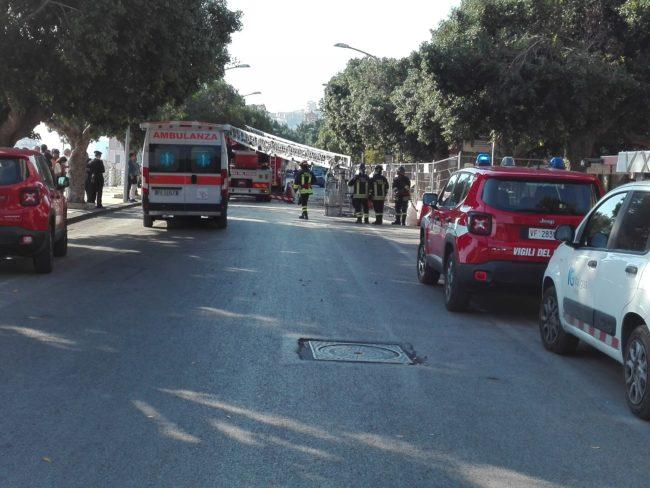 Crollo piazza Cavour, proseguono le indagini