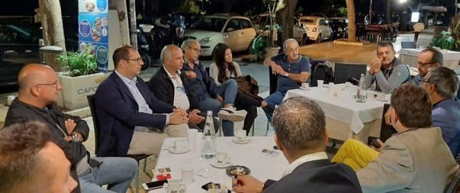 Crollo piazza Cavour, riunione dei commercianti del viale della Vittoria