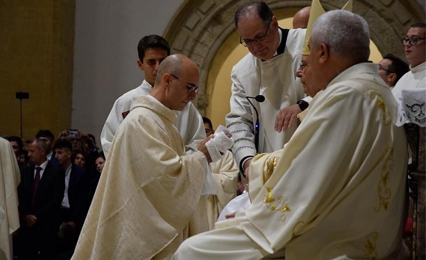 Chiesa agrigentina in festa, ordinati cinque nuovi presbiteri