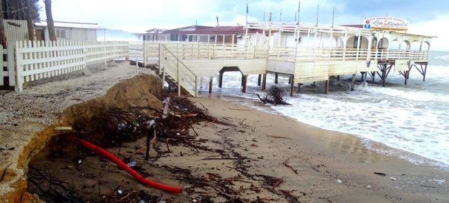 Continua l'erosione della spiaggia ad Eraclea Minoa