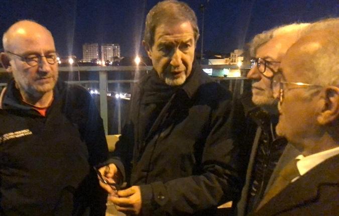 Maltempo: visita del presidente Musumeci a Licata