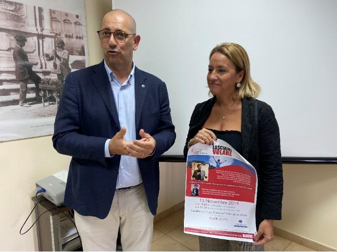 Ad Agrigento attesi Gianpietro Ghidini e Carolina Bocca