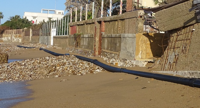 Mareggiata ha creato problemi a San Leone, la denuncia di MareAmico