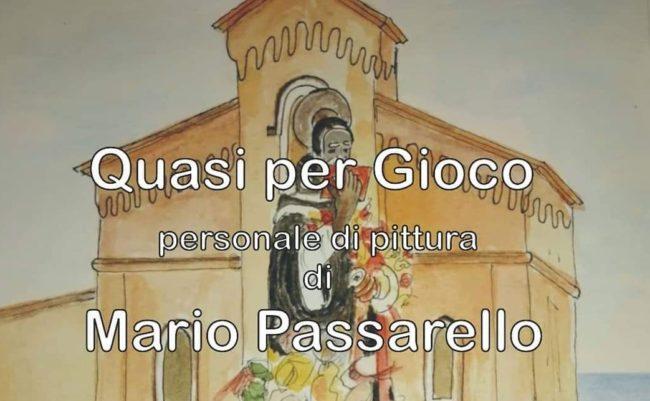 """""""Quasi per gioco"""", ad Agrigento la personale di pittura di Mario Passarello"""