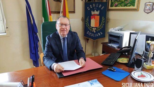 Siculiana, venerdì il saluto del sindaco Lauricella