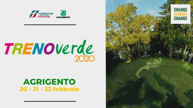 """Campagna """"Change Climate Change"""", il Treno Verde fa tappa ad Agrigento"""