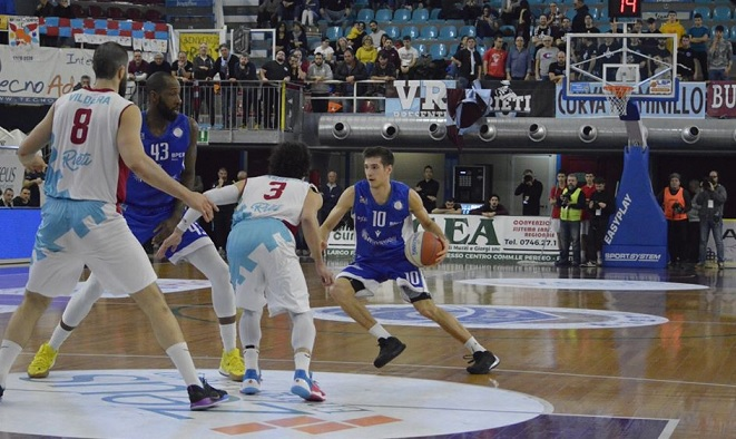 Basket, niente da fare per la Fortitudo Agrigento a Rieti