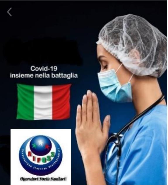 Emergenza coronavirus, nota dall'associazione Aiposs